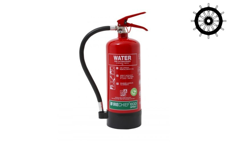 MED Approved Eco Spray 3ltr Water Additive Extinguisher (ESW3)