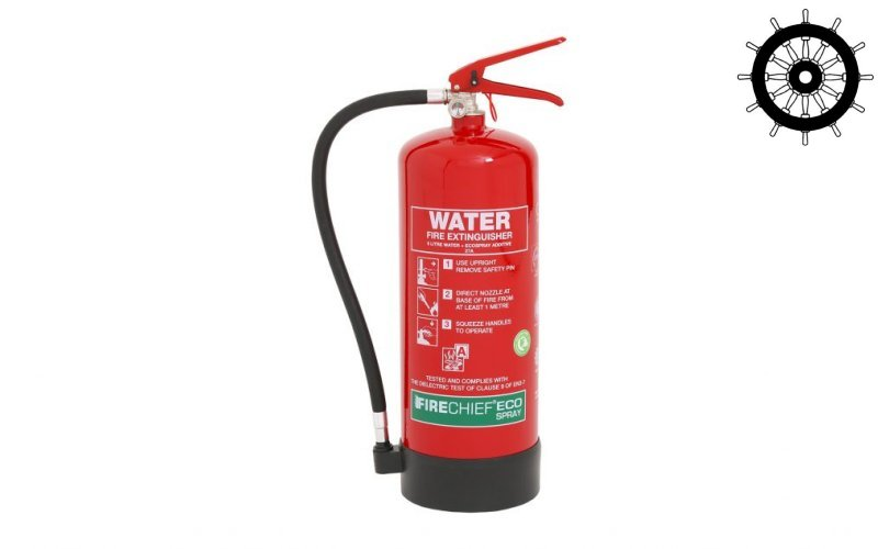 MED Approved Eco Spray 6ltr Water Additive Extinguisher (ESW6)