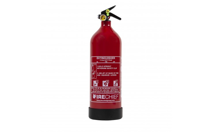 F-Plus 2ltr Foam Fire Extinguisher