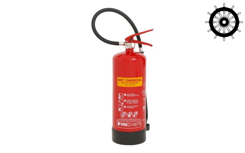 6ltr Wet Chemical Fire Extinguisher (FXWC6)