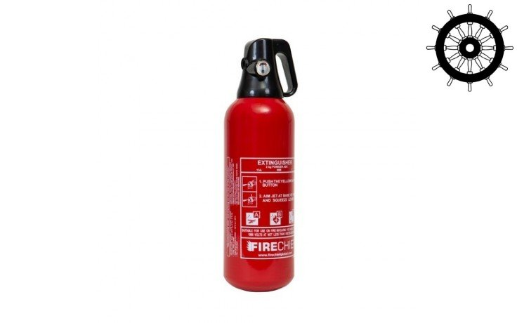 Firechief 'Easy-Use' 2kg Powder Extinguisher