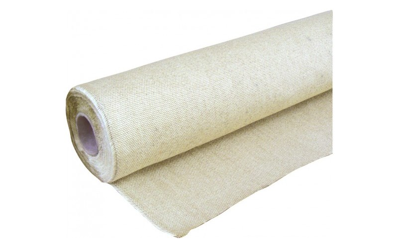 Heavy duty pre-coated glass fibre drape 1m x 25m Roll