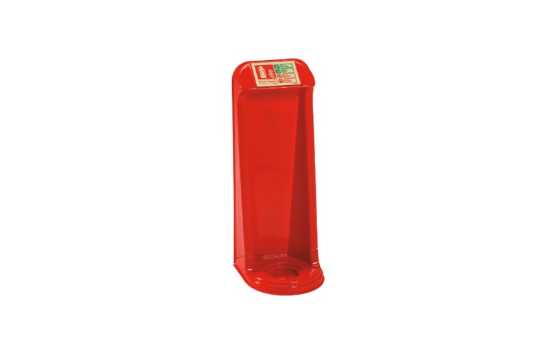Vac Formed Single Extinguisher Stand (TPS1/RED)
