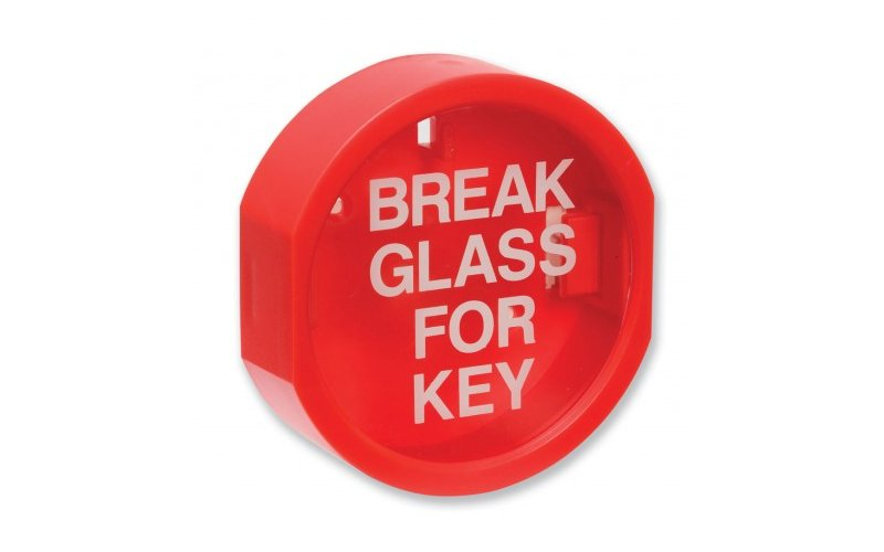 "Plastic Fronted ""Break Glass"" Keybox"