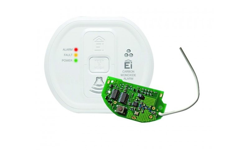 Radio linked carbon monoxide Detector