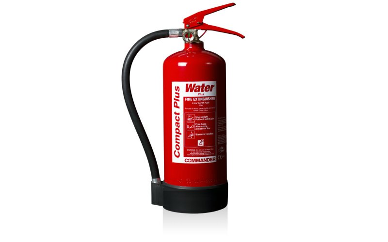 Commander 3ltr Water Compact PLUS Fire Extinguisher