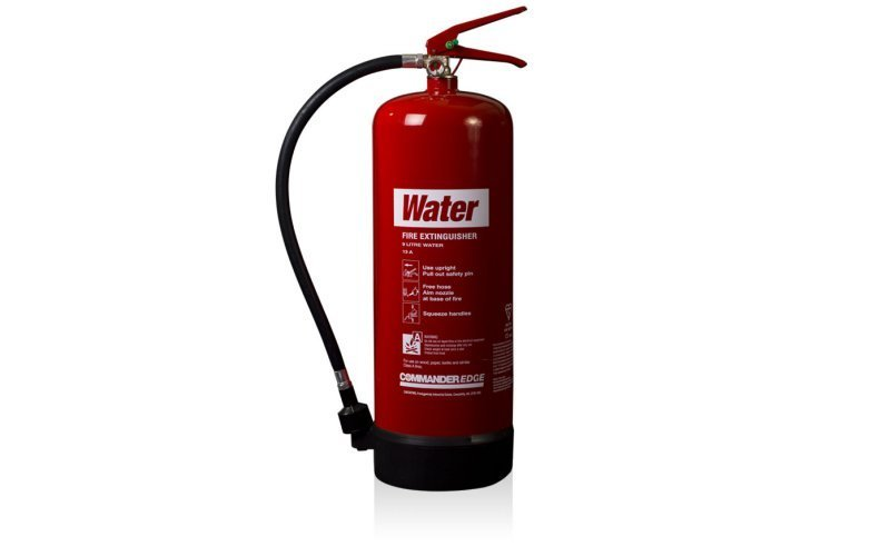 Commander EDGE 9ltr Water Fire Extinguisher