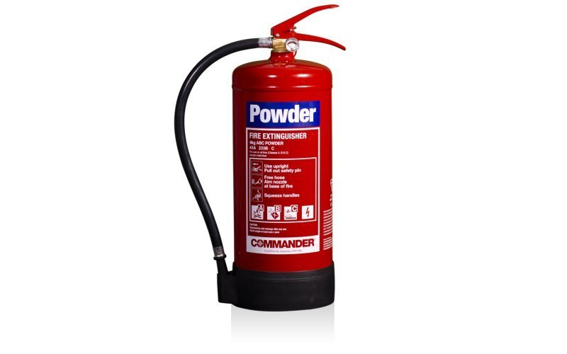Commander 6kg ABC Dry Powder Fire Extinguisher (Med Approved)