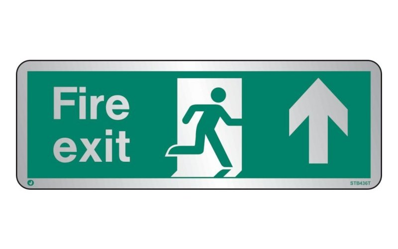 Fire Exit Route Signs