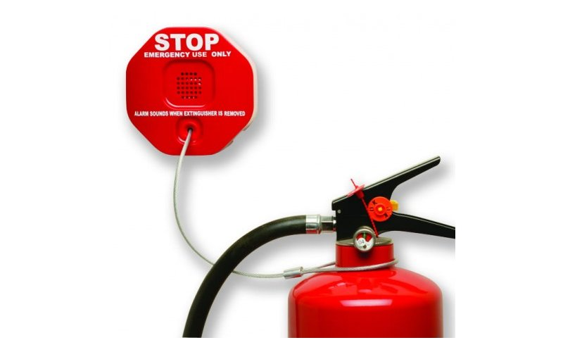 Fire Extinguisher Theft Alarms