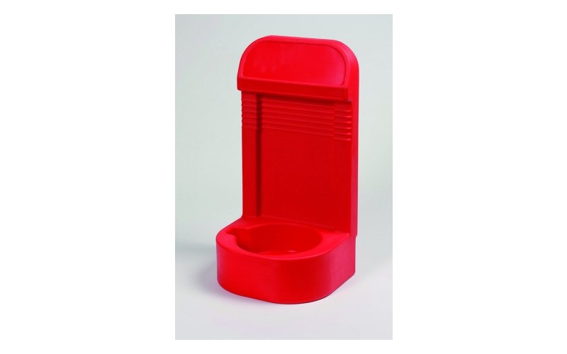 Single Extinguisher Stand With Recessed Base (HS16/RED)