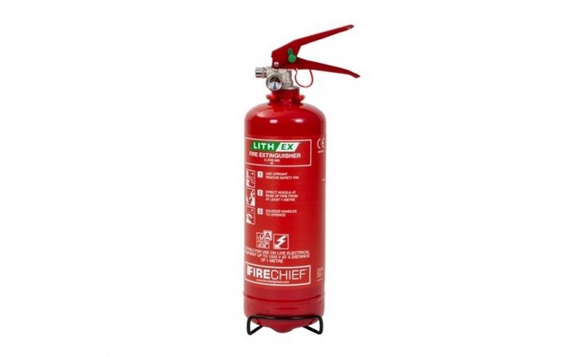 2Ltr (Lith Ex) Lithium Battery Fire Extinguisher