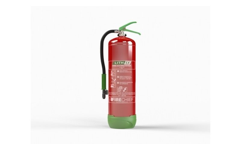 9Ltr Lithium Battery Fire Extinguisher (Lith Ex)