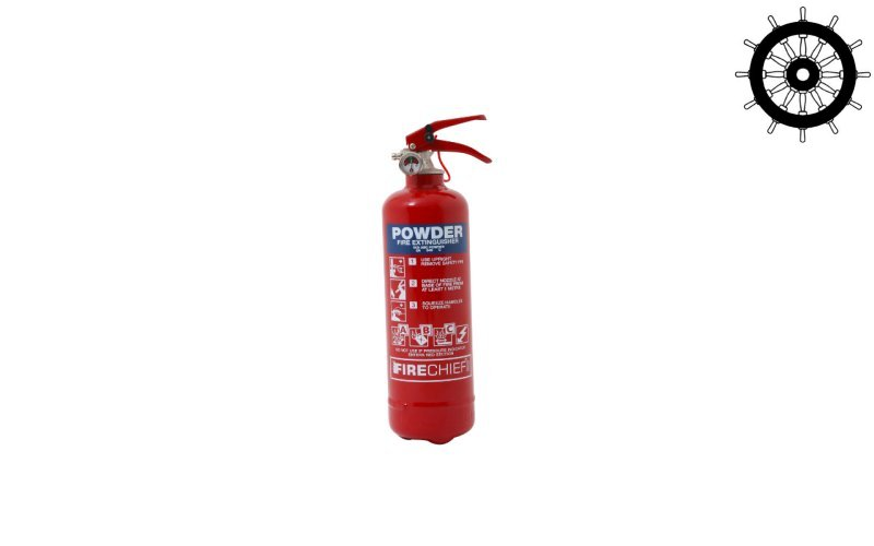 Firechief Power Plus 1kg Powder Extinguisher (PPP1)
