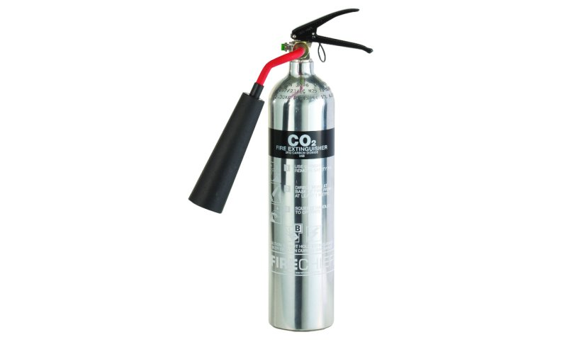 Firechief Elite 2KG Co2 Polished Fire Extinguisher (PXC2)