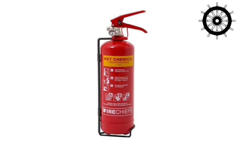 "2ltr ""F"" class Wet Chemical Fire Extinguisher (FXWC2)"